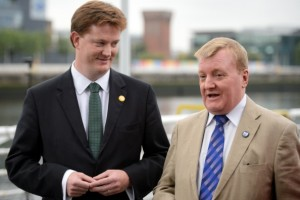 Incumbents Danny Alexander and Charles Kennedy  trying to avoid mentioning how fucked they are.